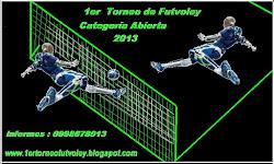 PRIMER TORNEO DE FUTVOLEY 2013