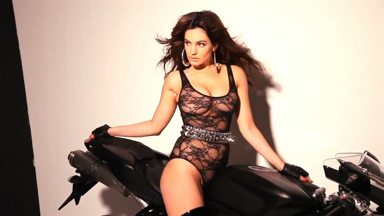 Kelly Brook 2013 Calendar Photoshoot Candids