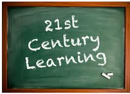 Image of the words 21st century learning