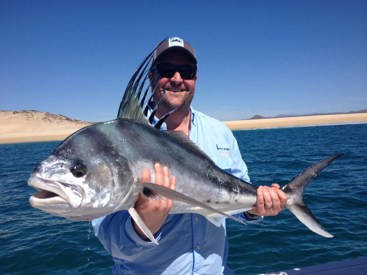 Baja anglers feb 19 it 39 s been such good fishing for big for Rooster fish cabo