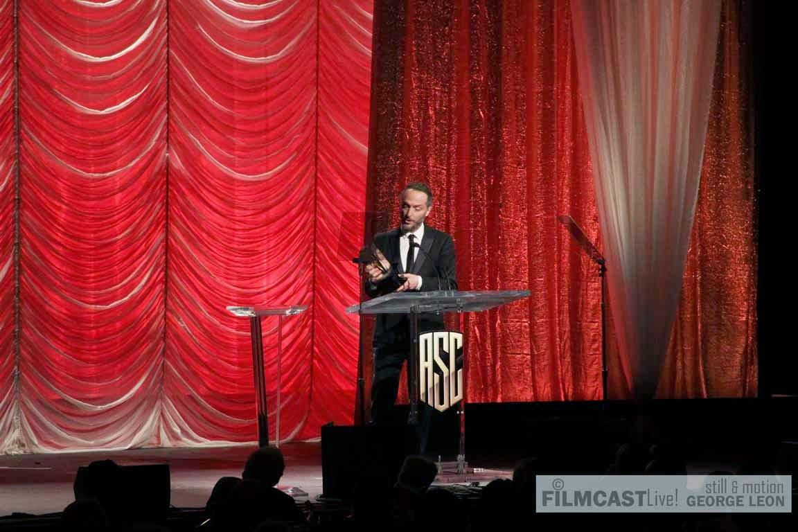 Emmanuel Lubezki, ASC AMC Wins ASC Award 2015 for Birdman ©georgeleon/filmcastlive