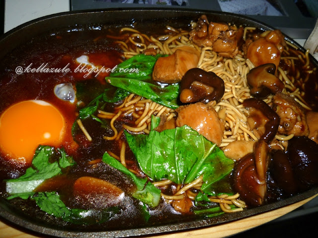 resepi sizzling yee mee hot plate