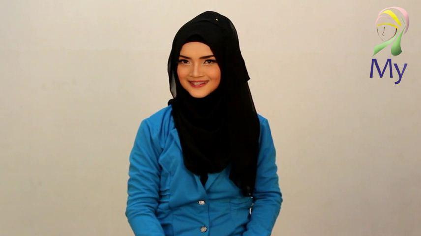 Tutorial Hijab Pashmina Anggun Cantik Stylish By Mybamus