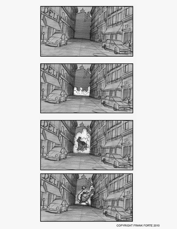 Frank Forte Animation Portfolio StoryboardsFeature Film