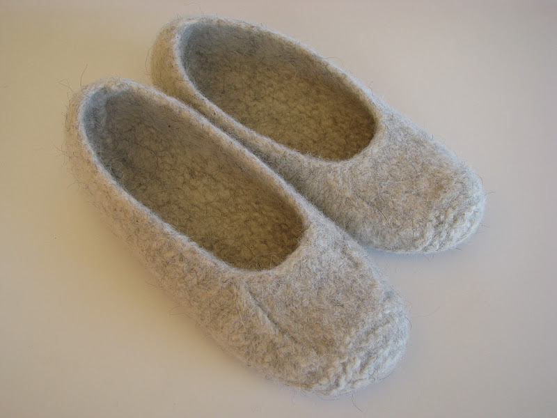 Duffers+lopi+felted+slippers