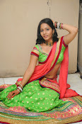 Mithra half saree photo shoot-thumbnail-7