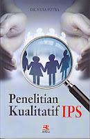 toko buku rahma: buku PENELITIAN KUALITATIF IPS, pengarang nusa putra, penerbit rosda
