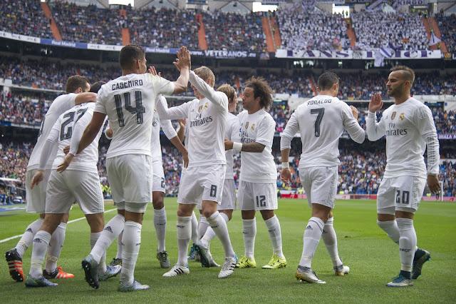 Partidos del Real Madrid en noviembre 2015