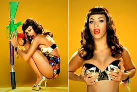 are a few of my favourite things: DIY: Bettie Page Pin-Up Fringe