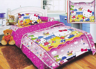 Sprei Belize Hello Kitty Beach