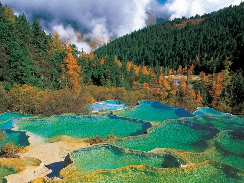 Lembah-Jiuzhaigou