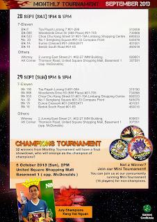 Animal Kaiser Monthly Tournament - 28/29 September 2013