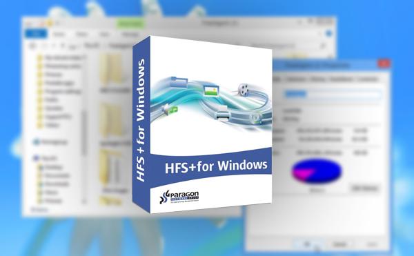 Windows system files, NTFS, Mac, Paragon, Mac system files, HFS+,