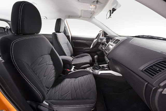 Mitsubishi ASX Outdoor 2016 - interior