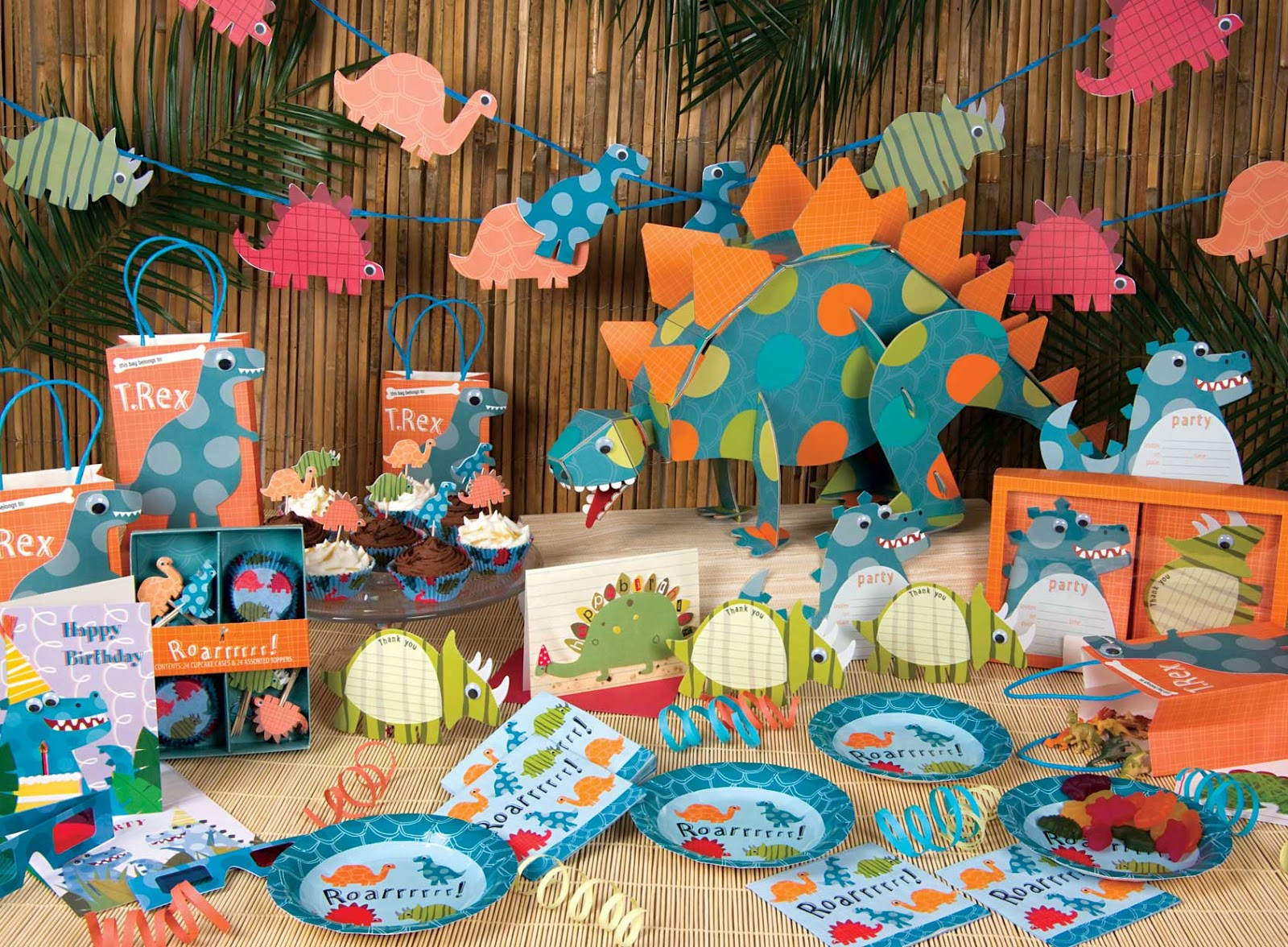 Kalliopelp decoraci n de fiestas infantiles de dinosaurios - Decoracion para fiestas de cumpleanos infantiles ...