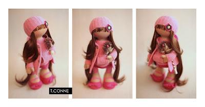 Авторские куклы, игрушки от Татьяны Коннэ.  Удивляет такое.