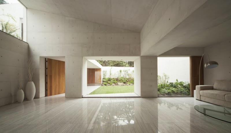 Hogares frescos casa cap por estudio mmx for Casa minimalista interior