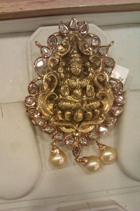 Temple jewellery pendants indain gods sudhakar gold works aloadofball