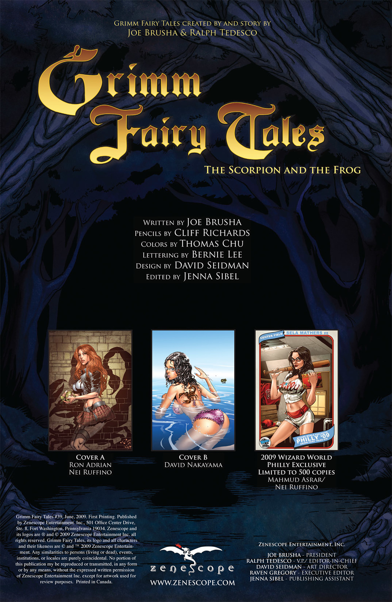 Grimm Fairy Tales (2005) Issue #39 #42 - English 2