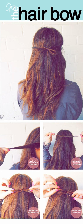 Cara Mengikat Rambut Panjang Yang Mudah Ala The Hair Bow