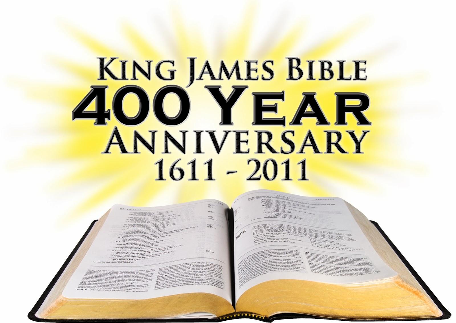 King James Bible - 400 Year Anniversary - 1611- 2011