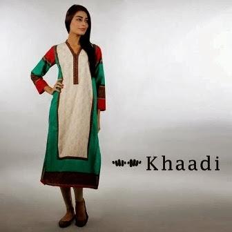 Khaadi Long Kurti Designs