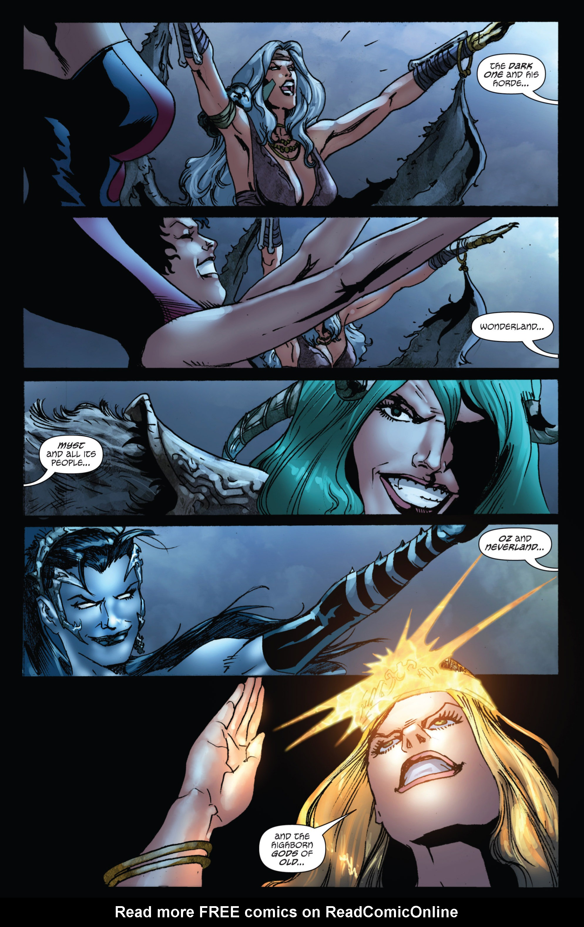 Grimm Fairy Tales (2005) Issue #74 #77 - English 6