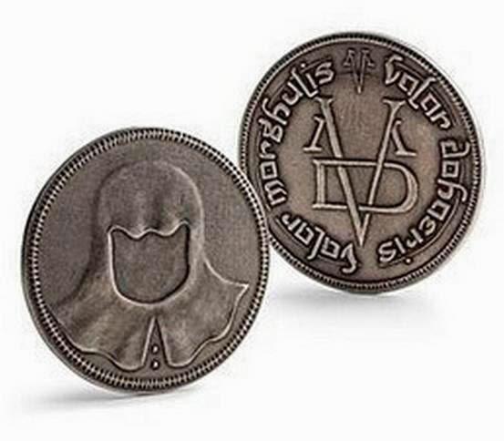 Moneda Juego de Tronos Valar Morghulis