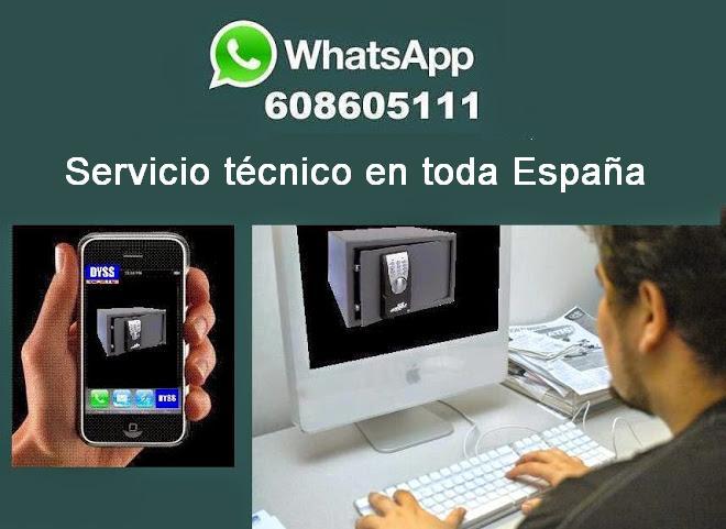 Abrir y reparar su caja fuerte por WhatsApp ¡¡¡ Ya es posible !!! conecte con nuestro telefono