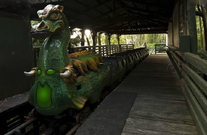 Escape from Abandoned Camelot Theme Park