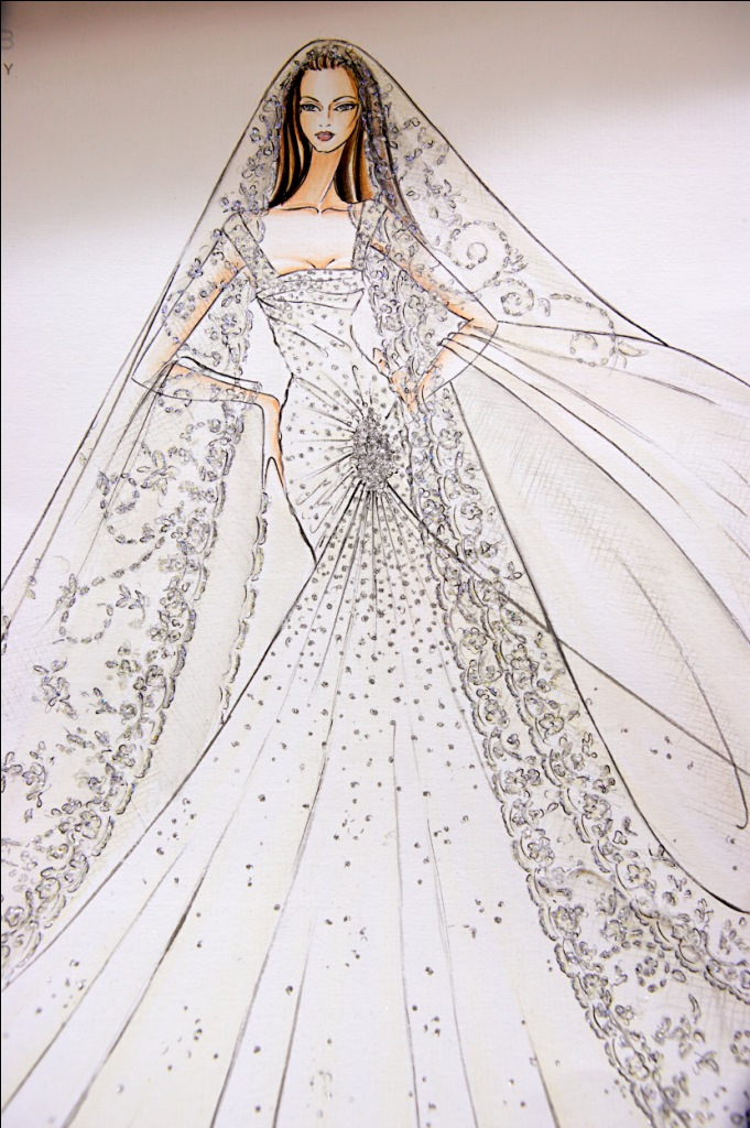 Just in my handbag elie saab Wedding dress design love nikki
