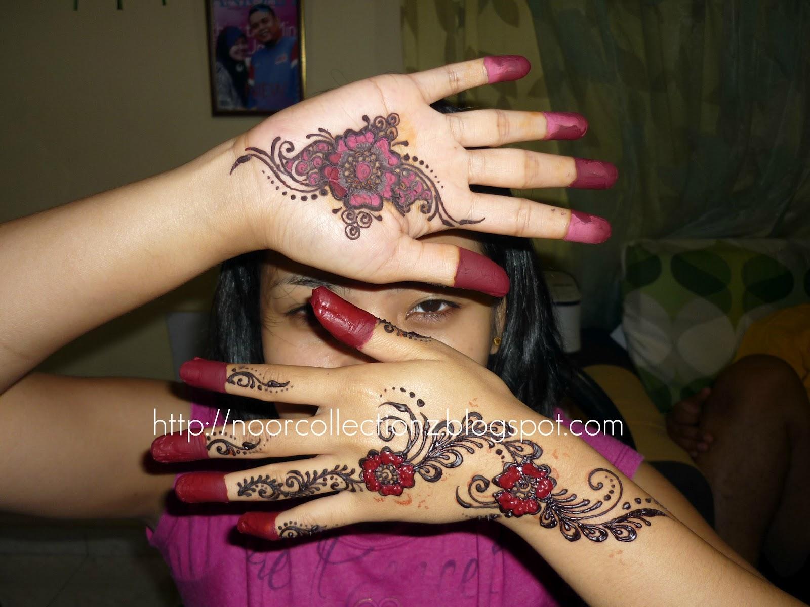 PERKHIDMATAN UKIRAN INAI PENGANTIN Henna Inai Huda Klang
