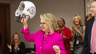 Hillary Clinton gets a little protections from her staff