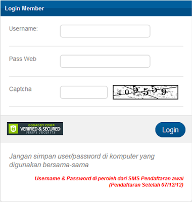 Transaksi Online via Web Topup di Chip Sakti Center