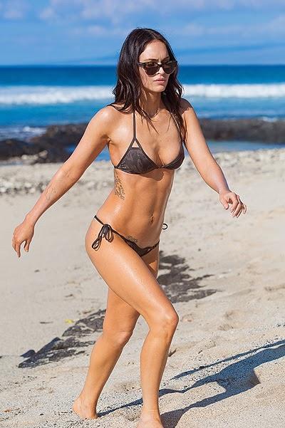 Megan Fox in Hawaii