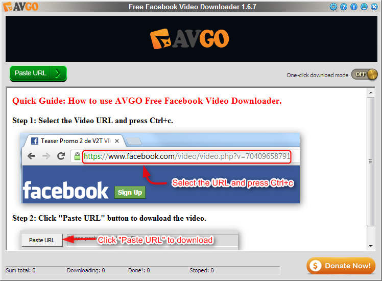 how to download video link from facebook