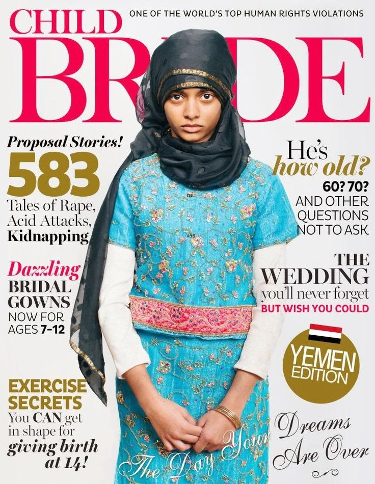 Child Bride Magazine cover picture