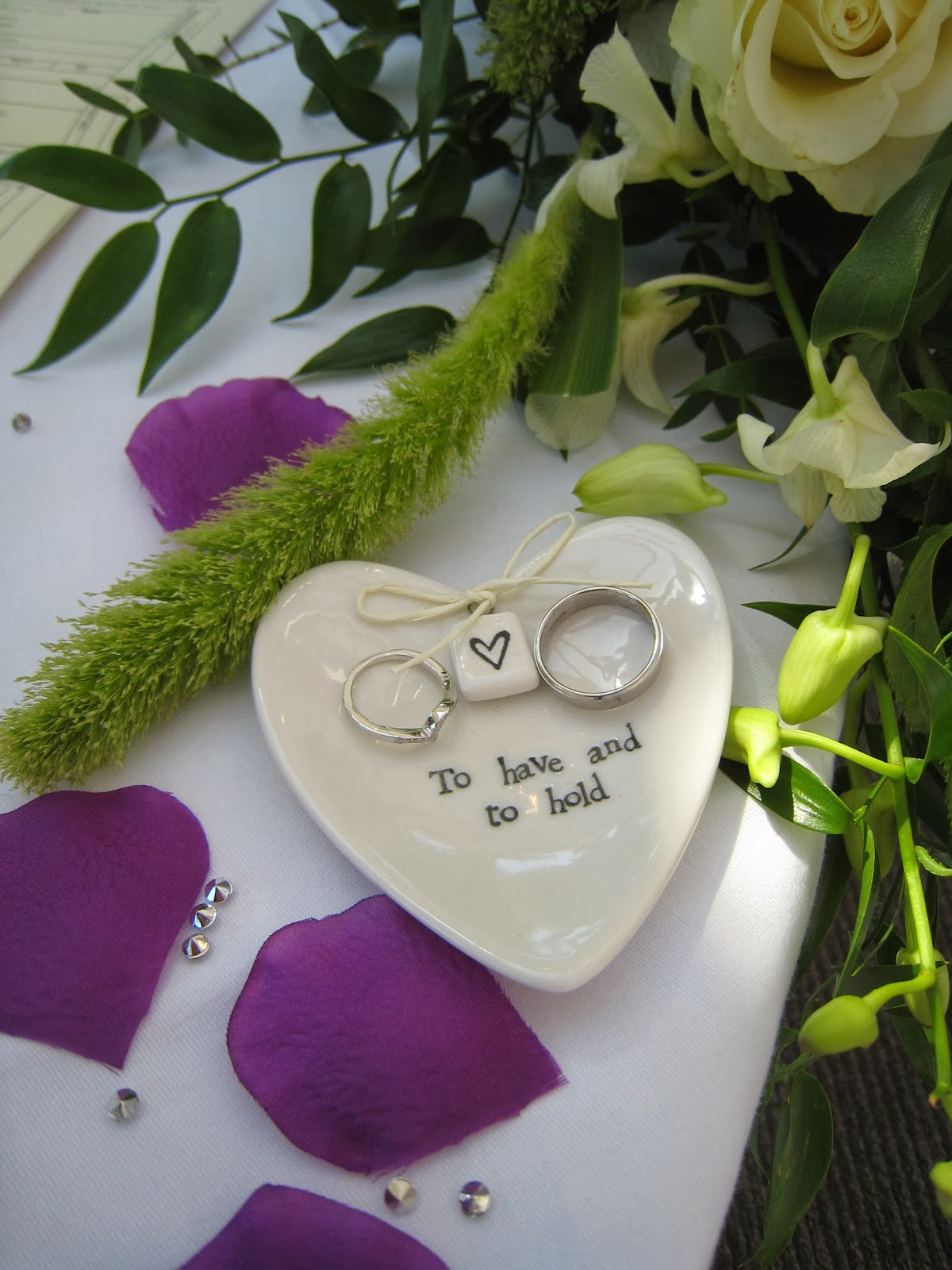YOUR BIG DAY Do you have any advice about the exchange of rings