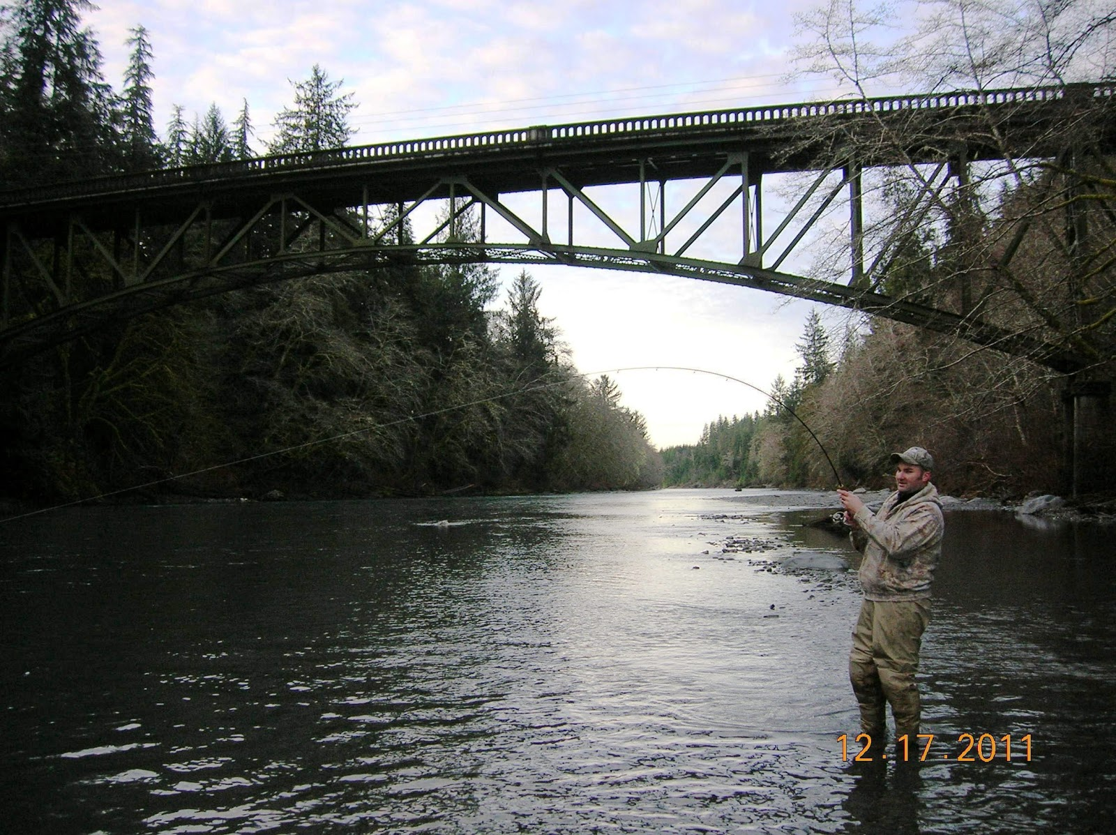Todds extreme fishing hoh hatchery steelhead for Hoh river fishing report