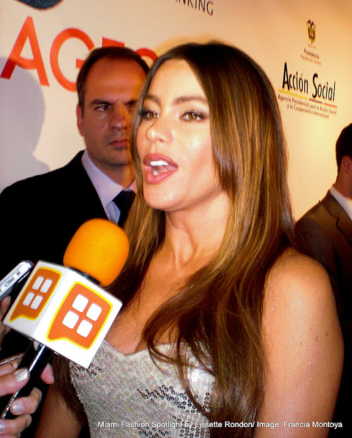 Sofia Vergara made a personal appearance at Belive's 5th anniversary celebration in Miami
