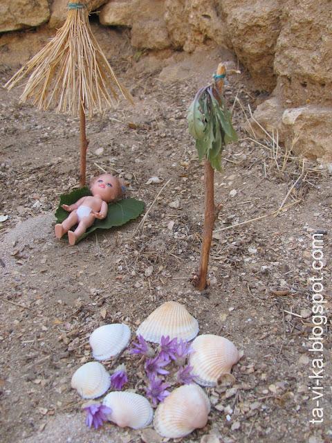 домик для куколок land-art