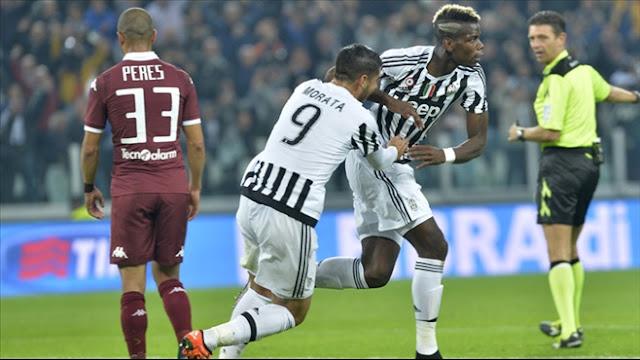 Hasil Pertandingan Juventus 2-1 Torino