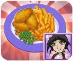 game nấu ăn Gà rán KFC