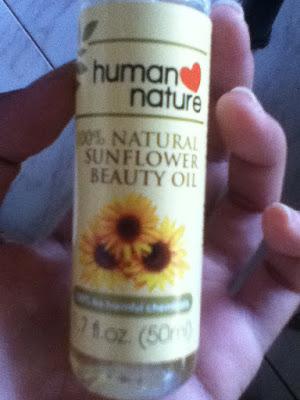 Human Nature's Sunflower Oil
