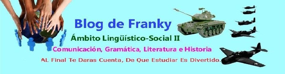Blog de Franky ... Ámbito Socio-Lingüístico
