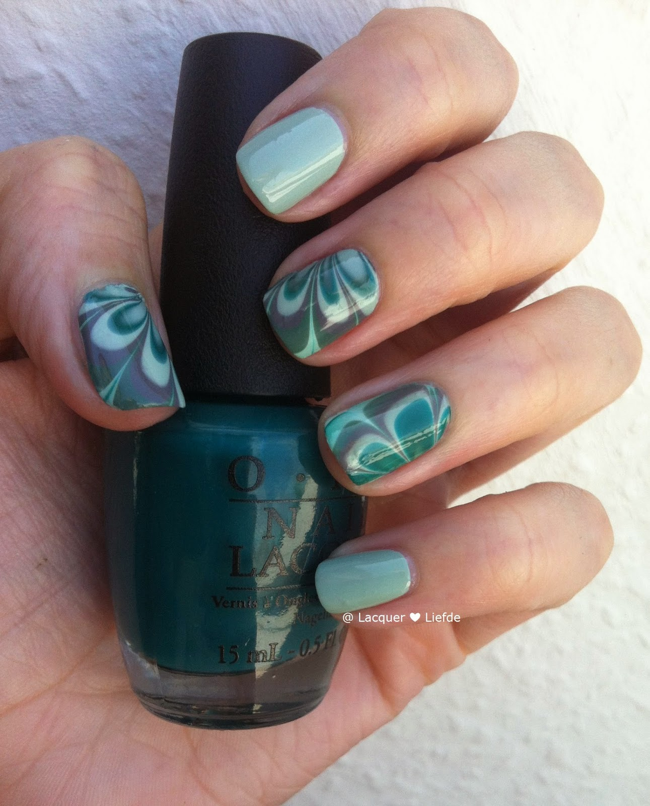 Watermarble Decals, Action Karton, Water Marble