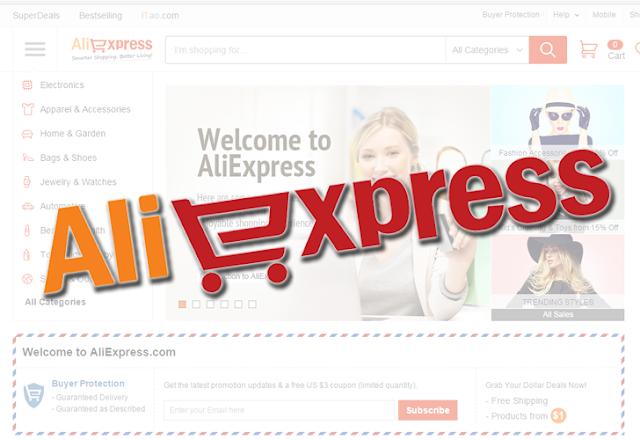 Comprare su Aliexpress