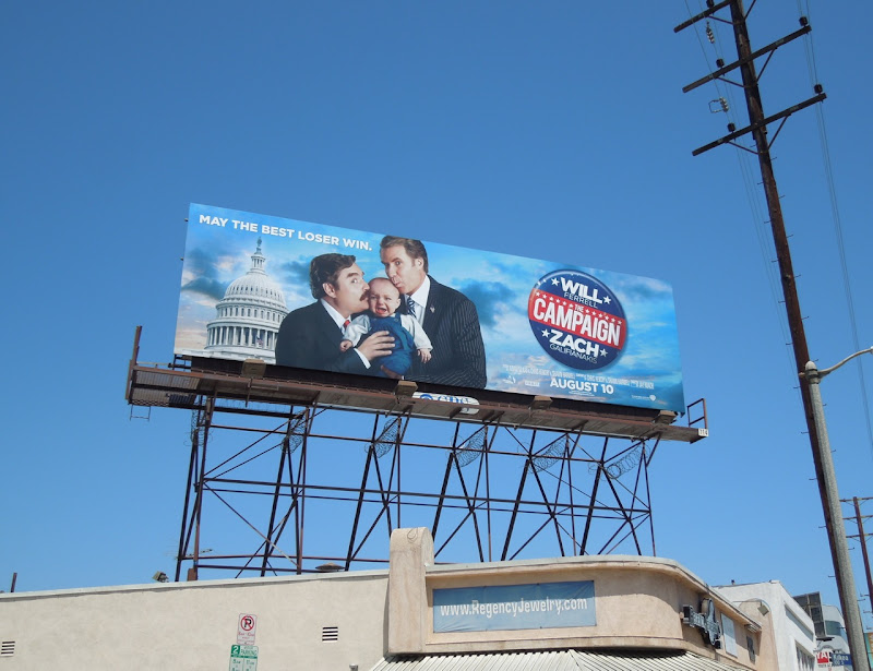 Campaign film billboard