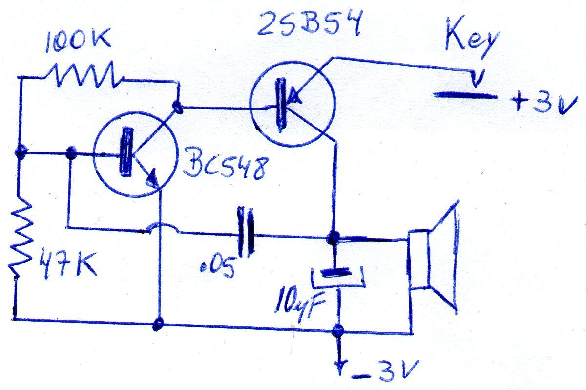 Circuito Oscilador : Lu fr oscilador para practicar cw
