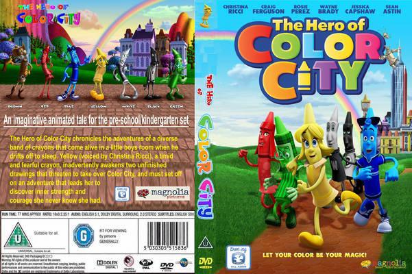Baixar Os Heróis da Cidade das Cores BDRip XviD Dual Áudio The Hero Of Color City